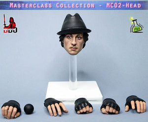 【已截訂】Kaustic Plastik MC02-HEAD+hands 1/6