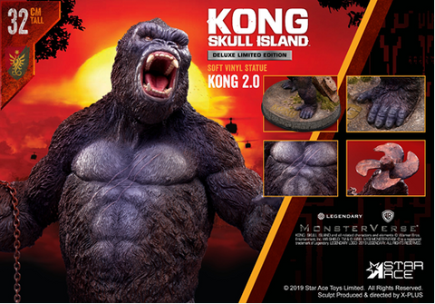 【已截訂】Star Ace King Kong 2.0 (Deluxe version) Action Figure