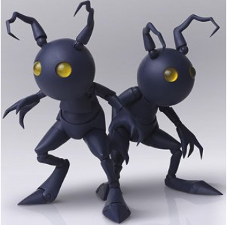 【已截訂】Square Enix Kingdom Hearts III Bring Arts Shadow Action Figure [全2種]
