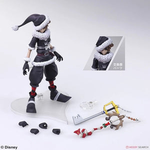【現貨】Square Enix Bring Arts Kingdom Hearts II Sora Christmas Town Ver. Action Figure