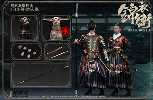 【已截訂】Kong Ling Pavilion new product one twelfth new product for Jin Yi commander 1/12 Action Figure