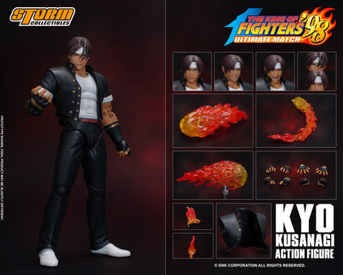 【預訂日期至另行通知】Storm Collectibles The King of Fighters Kyo Kusanagi 1/12 Action Figure
