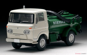【已截訂】Tomytec LV-180a ELF Honey Wagon (Vacuum Truck) (White Green) 1/64 Die Cast Car