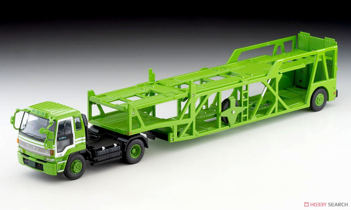 【預訂日期至21-Sep-20】Tomytec LV-N225a ISUZU 810EX Car Transporter Green 1/64 Diecast Car