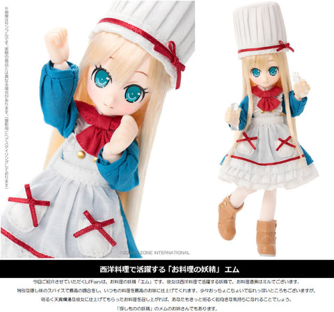 【已截訂】Azone Lil' Fairy -Small Maid- Emu 1/12 Action Doll