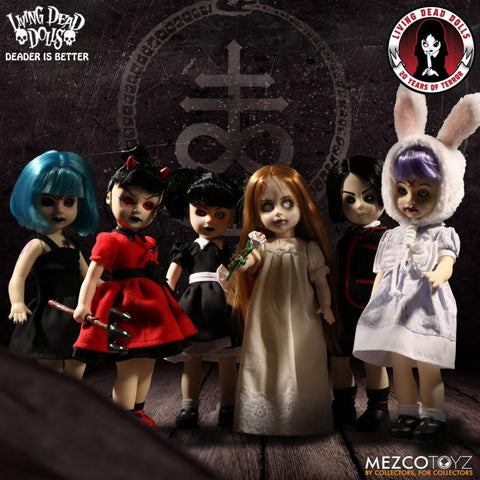 【已截訂】Mezco Toyz Living Dead Dolls 20th Anniversary Series - Mystery Collection Action Figure Doll