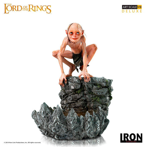 【預訂日期至18-Apr-20】Iron Studios Lord of the Rings - Gollum Deluxe Art Scale 1/10 Resin Statue
