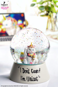 【已截訂】Soap Studio Lucky Unicat Snow Globe ZS003