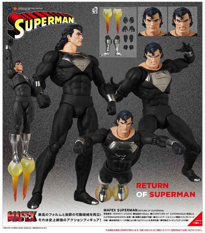【預訂日期至21-Feb-21】Medicom Toy MAFEX SUPERMAN(RETURN OF SUPERMAN) Action Figure
