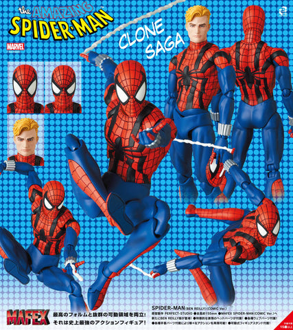 【預訂日期至09-Jan-21】Medicom Toy MAFEX ''The Amazing Spider-Man'' Spider-man (Ben Reilly) (Comic Ver.) Action Figure