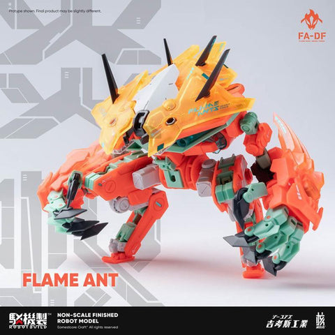 RB-05 CARBE (Flame Ant) Action Figure | 核誠治造 Robot Build | Earnestcore Craft【現貨】