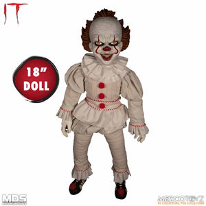 【已截訂】Mezco Toyz MDS Roto Plush IT (2017) - Pennywise Action Figure