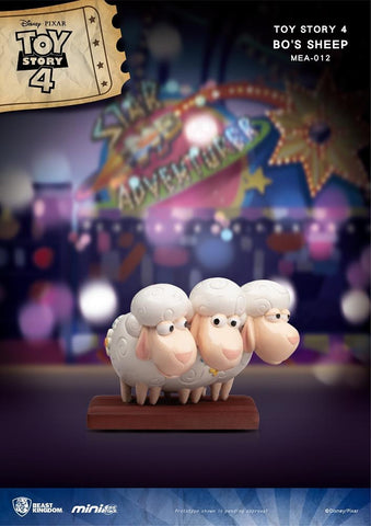 【已截訂】Beast Kingdom MEA-012 Toy Story 4 Bo's Sheep PVC Figure