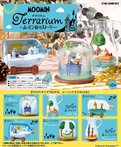 【已截訂】RE-MENT MOOMIN Terrarium ~ Moomin Valley Story ~ [全6種]