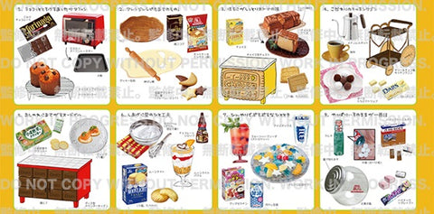【預訂日期至19-Dec-19】RE-MENT MORINAGA Sweets Recipe 2 [全8種]