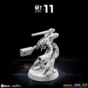 Kids Logic MiniTech 1/285 Robotech Macross Officer's Battlepod