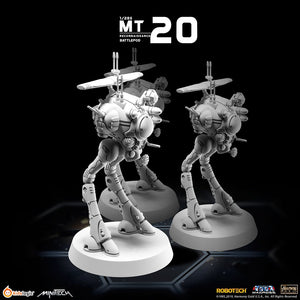 MT20 Macross Reconnaissance Battlepod (Set of 3) | MiniTech | Kids Logic【現貨】