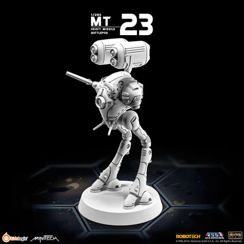 MT23 Robotech Macross Heavy Missile Battlepod (Set of 3) | MiniTech | Kids Logic【現貨】