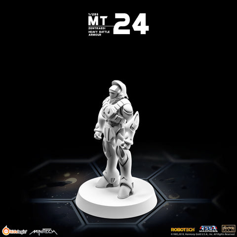 MT24 Robotech Macross Zentraedi Heavy Battle Armor (Set of 3) | MiniTech | Kids Logic【現貨】