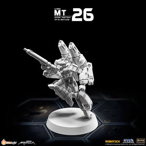 Kids Logic Minitech MT26 1/285 Robotech Macross Super Veritech VF-1A Battloid Mode【現貨】