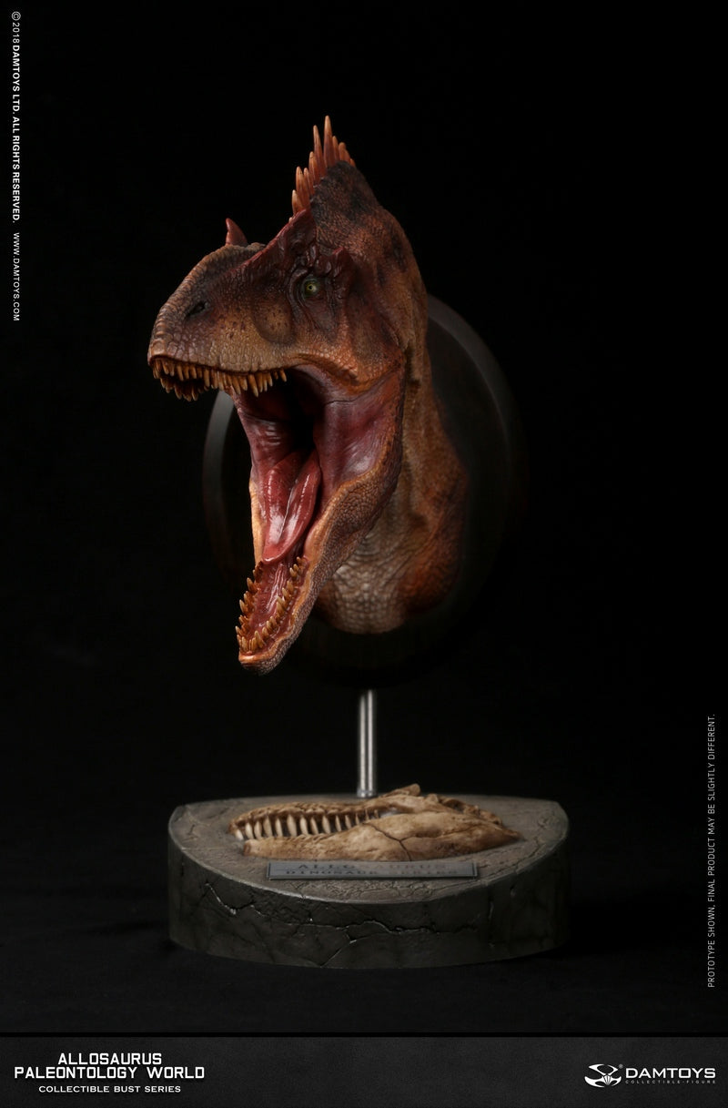【已截訂】Damtoys MUSEUM SERIES Allosaurus Bust Collectible Statue A