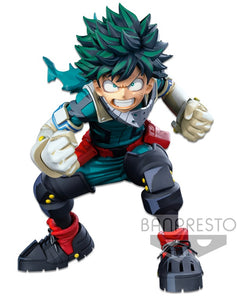 【已截訂】Banpresto MY HERO ACADEMIA BANPRESTO WORLD FIGURE COLOSSEUM MODELING ACADEMY SUPER MASTER STARS PIECE THE IZUKU MIDORIYA(TWO DIMENSIONS) PVC Figure [Partnership shop 限定]