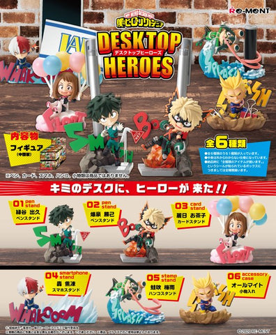 【預訂日期至25-Sep-20】Re-ment MY HERO ACADEMIA DESKTOP HEROES (一盒6入)