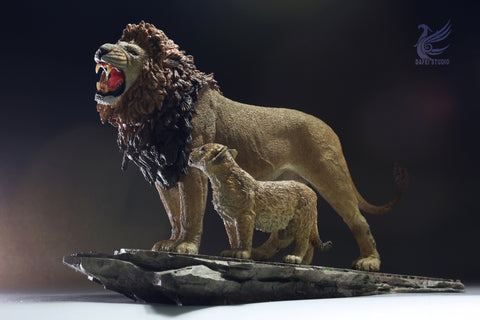【預訂日期至10-Aug-19】Fly Toys 1/12 Marseille Lion King and Son Figure