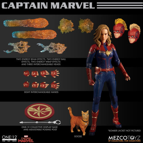【已截訂】Mezco Toyz Marvel One 1:2 Collective Captain Marvel Action Figure