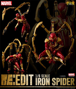 【已截訂】Sentinel Marvel Re:Edit Iron Spider 1/6 Action Figure
