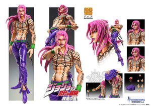 【已截訂】MEDICOS JoJo`s Bizarre Adventure -Part V- Diavolo Action Figure [再販]