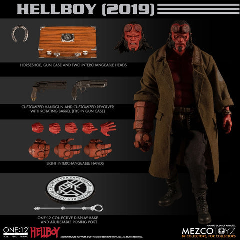 【已截訂】Mezco Toyz One- 12 Collective Hellboy (2019) 1/12 Action Figure