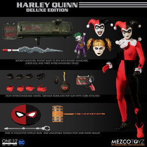 【已截訂】Mezco Toyz The One 12 Collective - Harley Quinn Deluxe Edition 1/12 Action Figure
