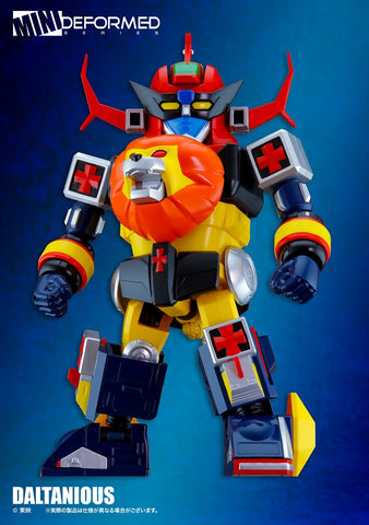 【已截訂】Action Toys Mini Deformed Series Daltanious Action Figure