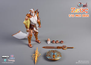 【已截訂】Morrowind M01 1/12 Gods of All Nations Zeus Action Figure