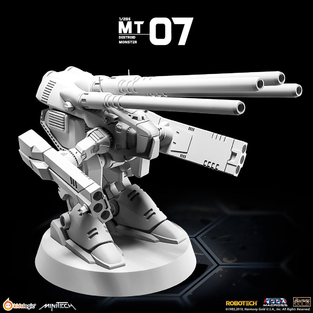 MT07 1/285 Robotech Macross Destroid Monster | MiniTech | Kids Logic【現貨】