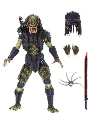 【已截訂】NECA~Predator 2 - 7'' Action Figure- Ultimate Armored Lost Predator Action Figure