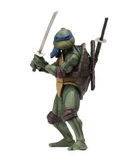 【已截訂】NECA~Teenage Mutant Ninja Turtles – 7'' Scale Action Figure – 1990 Movie Leonardo Action Figure