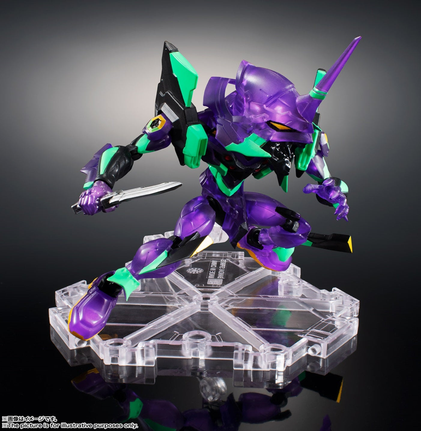 【已截訂】 Bandai NXEDGE STYLE [EVA UNIT] EVA01 (night battle specification) Action Figure