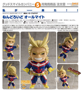 【預訂日期至04-Jan-20】Good Smile Company Nendoroid No.1234 ALL Might