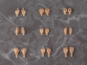 【已截訂】GSC Good Smile Company Nendoroid Doll archetype Hand Parts Set (Peach)