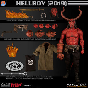 【己截訂】Mezco Toyz ONE-12 COLLECTIVE PX HELLBOY 2019 ANUNG UN RAMA EDITION AF Action Figure