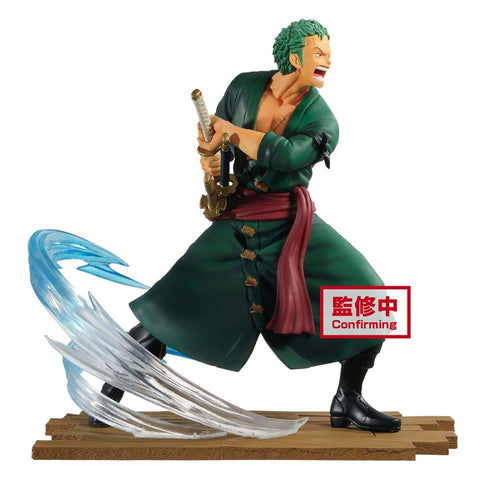 ONE PIECE LOG FILE SELECTION-FIGHT-VOL.1  | 卓洛 PVC Figure | Banpresto【現貨】