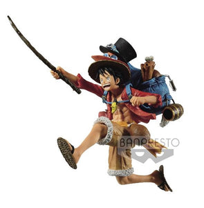 【已截訂】Banpresto ONE PIECE THREE BROTHERS FIGURE(A MONKEY.D.LUFFY) PVC Figure