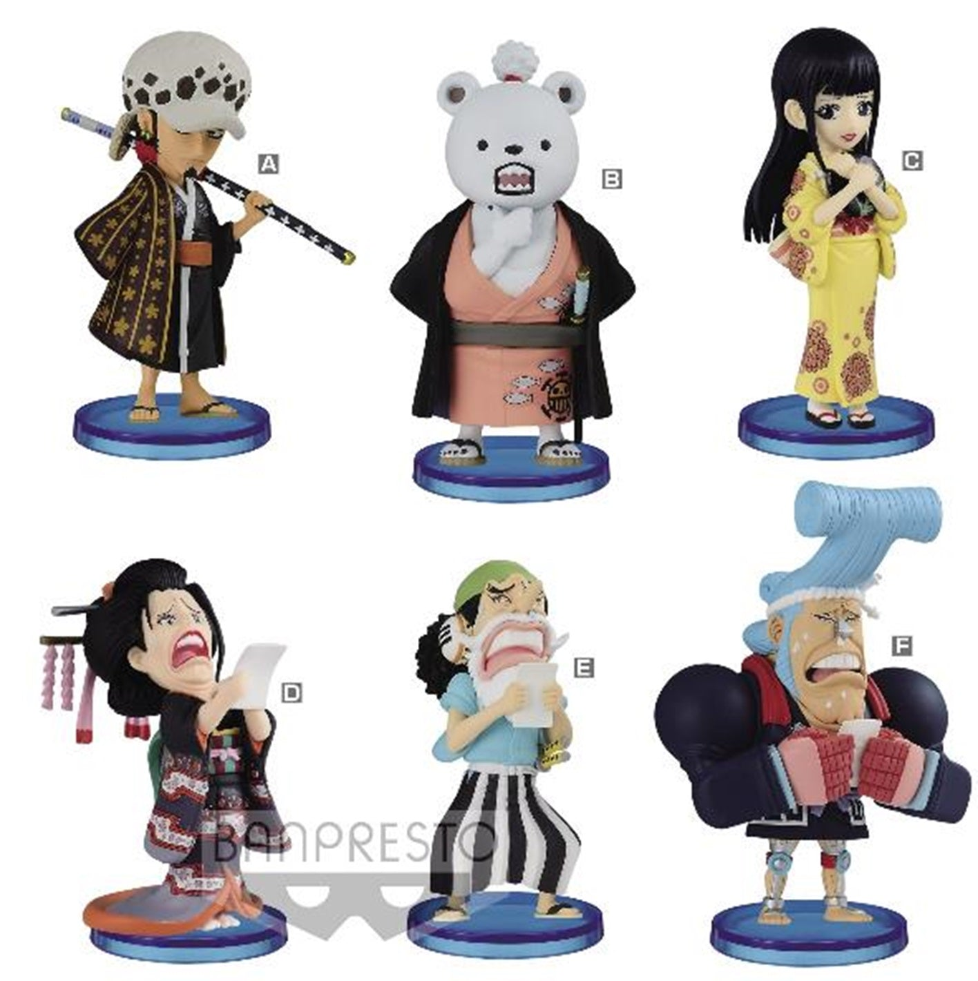 【已截訂】Banpresto ONE PIECE WORLD COLLECTABLE FIGURE-WANOKUNI2- PVC Figure [原盒12入]