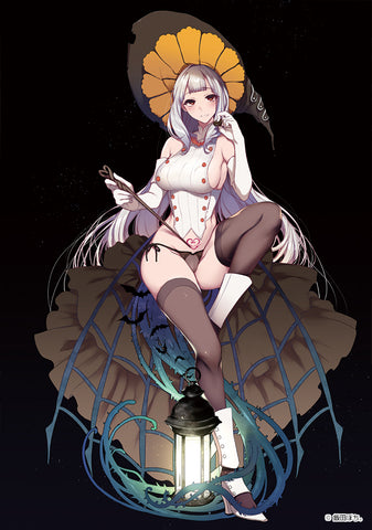 【已截訂】Native October 31st Witch  Miss Orangette - Wall Scroll