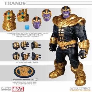 【預訂日期至26-Feb-20】Mezco Toyz One 12 Collective - Thanos 1/12 Action Figure