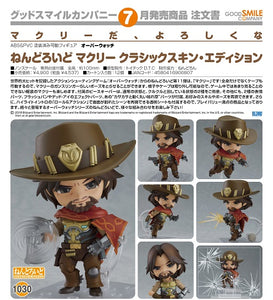 【已截訂】GSC Good Smile Company Nendoroid No.1030 Overwatch McCree Classic Skin Edition