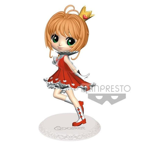 【已截訂】Banpresto Sakura Clear Card Q Posket-Sakura Kinomoto-(A Normal Color Ver) Figure