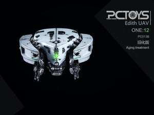 【已截訂】PCTOYS PC013B Drone Older version1/12 Parts